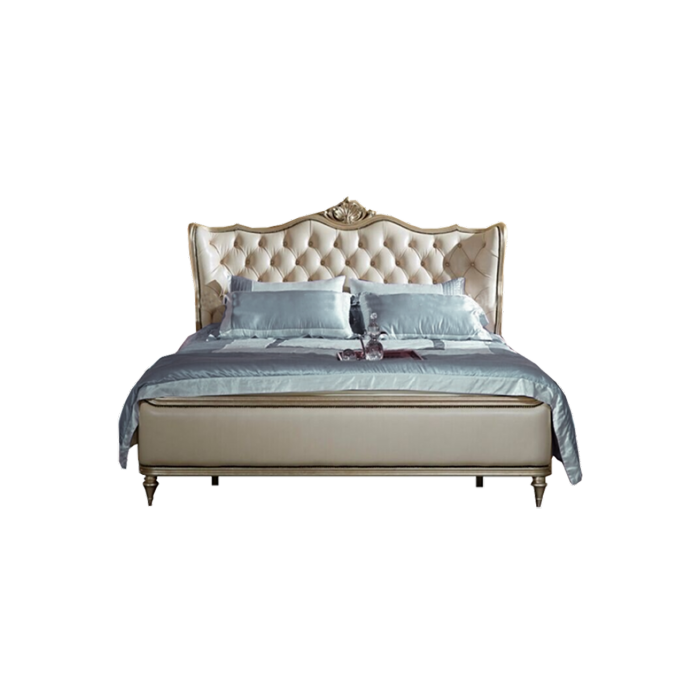 Somerset Solid Wood King Size Bed